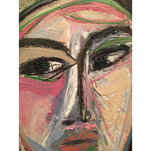 Figurative Modern Figure Painting by Jj Justice For Sale - Image 3 of 11