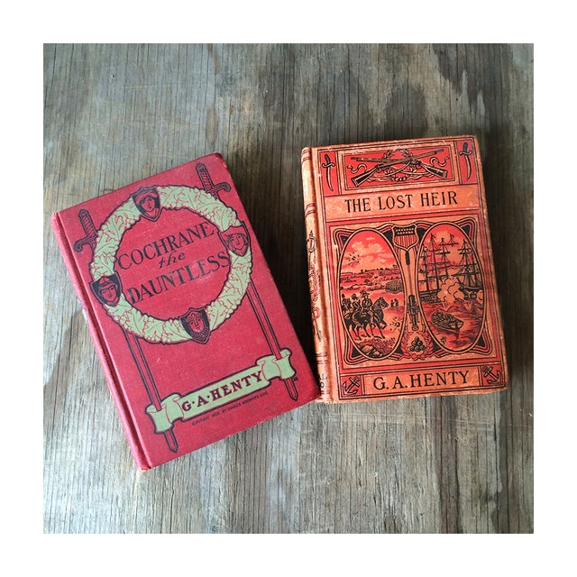 1900's Adventure Novels by G.A. Henty - Pair - Image 2 of 7
