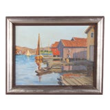 Image of Gunnar Zetterstrom Oil Painting For Sale