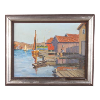 Gunnar Zetterstrom Oil Painting For Sale