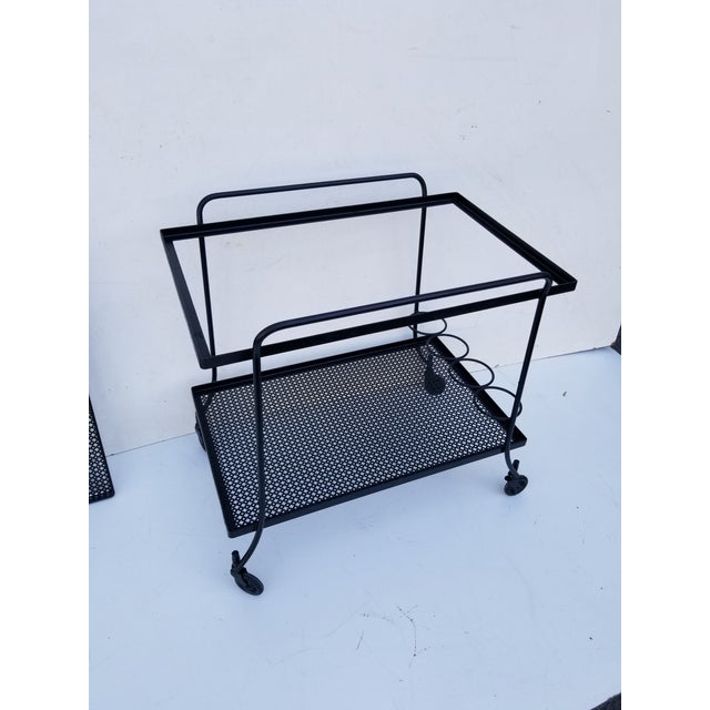 Mathieu Mategot Bar Cart For Sale In Miami - Image 6 of 12