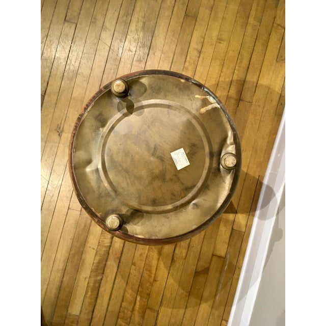 Late 20th Century Moroccan Brass Planter For Sale - Image 10 of 12