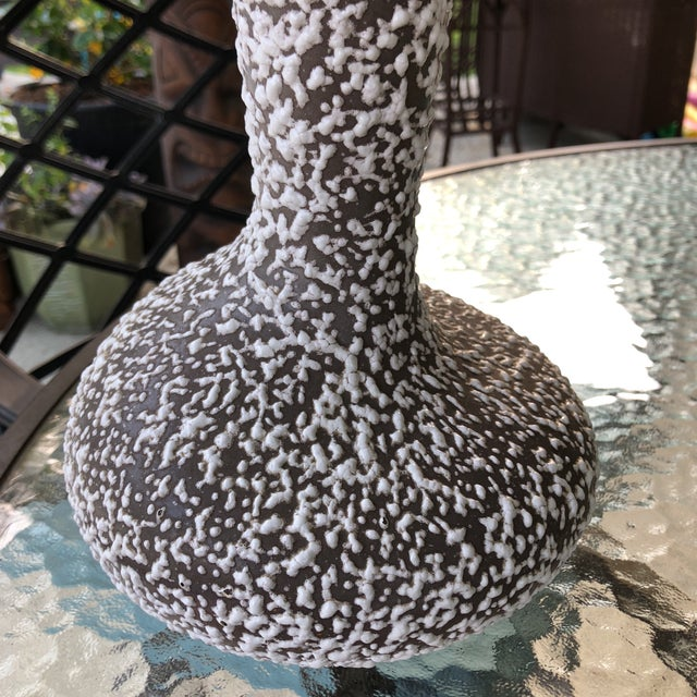 1950s Atomic Era Royal Haegar Lava Vase For Sale - Image 9 of 13