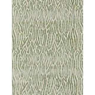 Sample, Scalamandre Faux Bois Velvet, Dusk Fabric For Sale