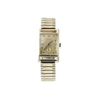 Gruen Curvex Gold Watch For Sale