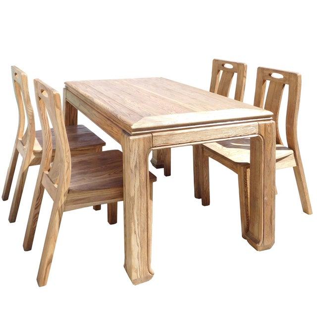 Light Wood Dining Set - Image 1 of 6