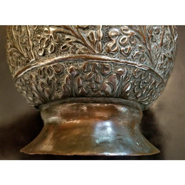 18th C. Indo-Persian Bronze Pitcher For Sale In Dallas - Image 6 of 13