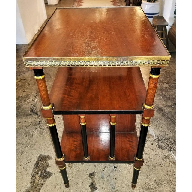 Empire Style Canterbury Side Table For Sale - Image 9 of 13