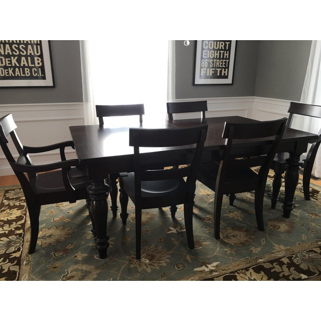 Pottery Barn Dining Room Set: Pottery Barn Montego Dining Set