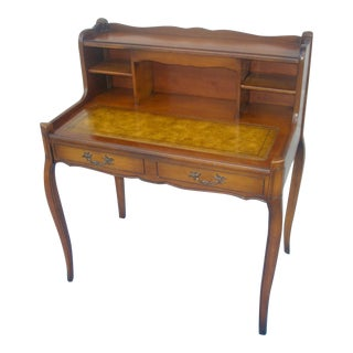 French Provincial Leather Top Lady's Desk