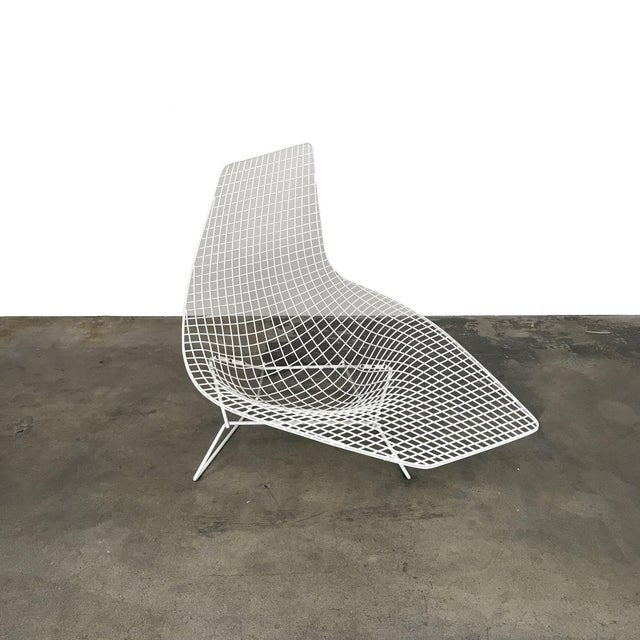 Knoll Bertoia Asymmetric Chaise By Harry The Lounge Is Most Sculptural