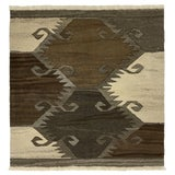 Image of Rug & Relic Organic Modern Kilim | 3'2 X 3'2 For Sale