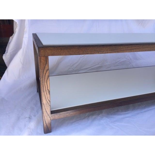 """Edward Wormley """"Dunbar"""" Ash & Laminate Table - Image 4 of 6"""