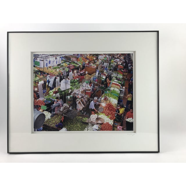 """Marketplace"" Framed Photograph by Sergio Sanchez For Sale - Image 4 of 4"