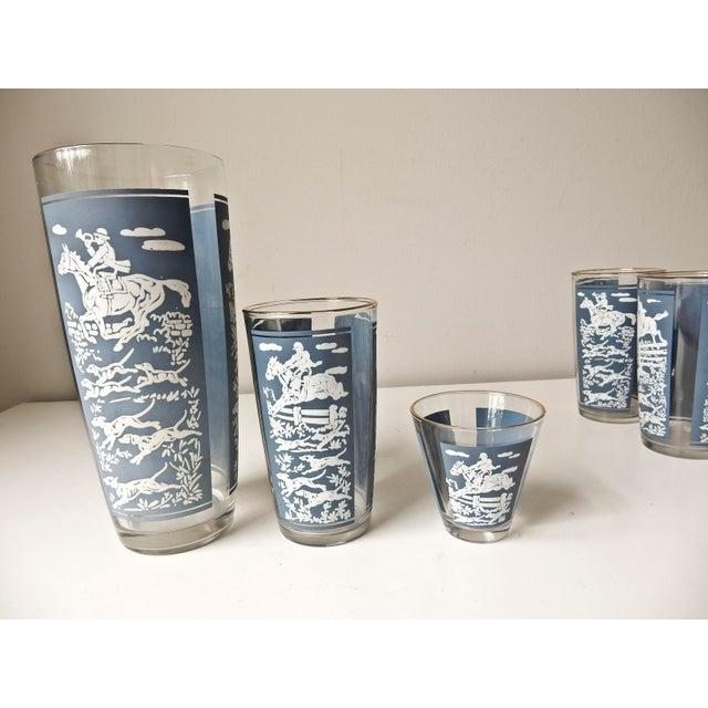 Vintage Cocktail Shaker and Glasses Set - Set of 11 For Sale - Image 9 of 10