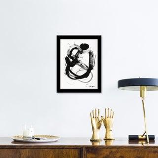 """Small """"Noir Et Blanc Nombre 4"""" Print by Lesley Grainger, 10"""" X 13"""" Preview"""