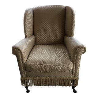 Wingback Down Stuffed Chair