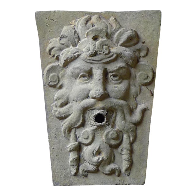 Late 20th Century Renaissance Style Fountain Mask For Sale