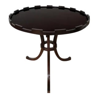 Thomas Pheasant for Baker Mahogany Side or Low Center Table, Signed For Sale