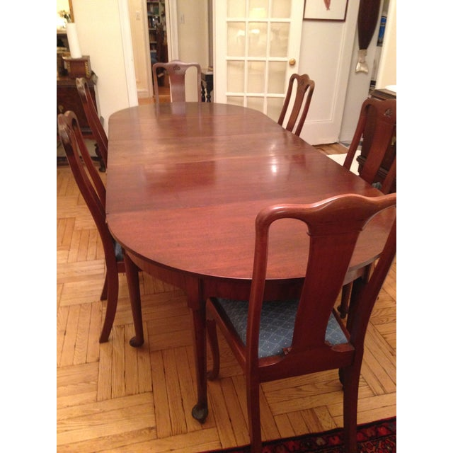 1740 English Traditional Dining Table For Sale - Image 4 of 8