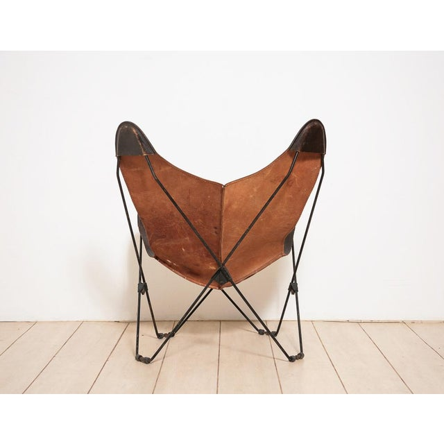 Circa 1950 Mid-Century Butterfly Chair