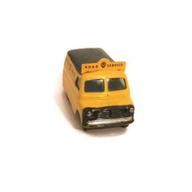 Diecast Corgi Bedford Aa Road Service Van Vintage British Toy Car - Image 4 of 6