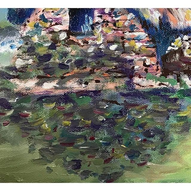 "Ireland Thatched Roof Cottage Irish Home 12""x12"" Original Oil Painting Framed Black Frame Great gift. Black frame. Oil..."