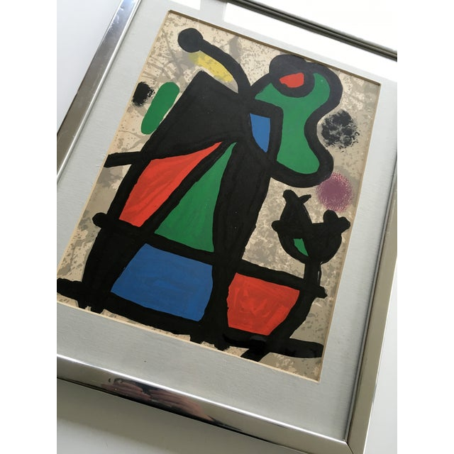 Original Miro Lithograph From Derriere Le Miroir - Image 4 of 5