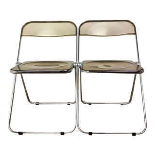 1960s Giancarlo Piretti for Castelli Folding Chairs - a Pair For Sale