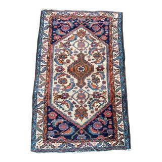 "1960s Vintage ""Batya"" Hamadan Rug- 2′6″ × 3′11″ For Sale"