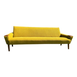 Mid-Century Boucle Sofa For Sale