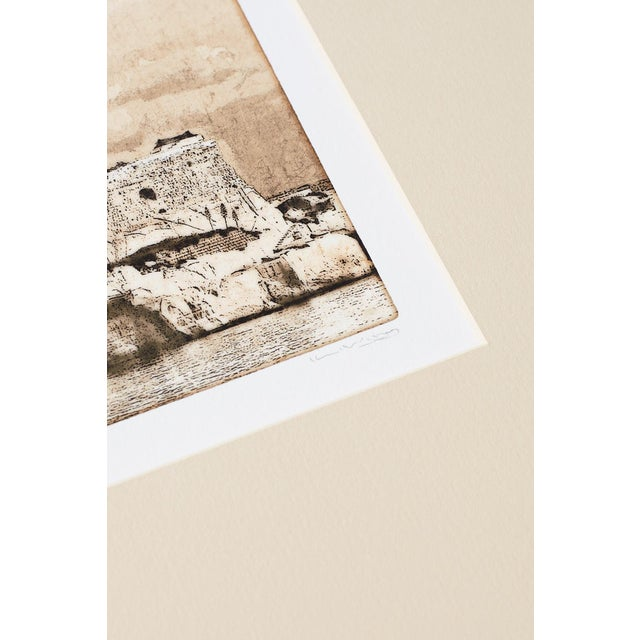Set of Twelve Architectural Landscape Etchings by Kenneth Gregg For Sale In San Francisco - Image 6 of 13