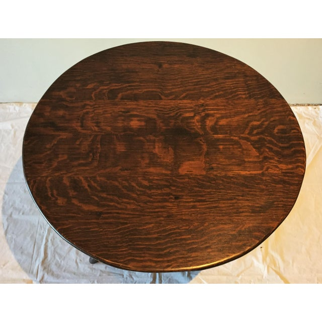 English Country Oak Side Table, Circa 1860 For Sale - Image 4 of 11