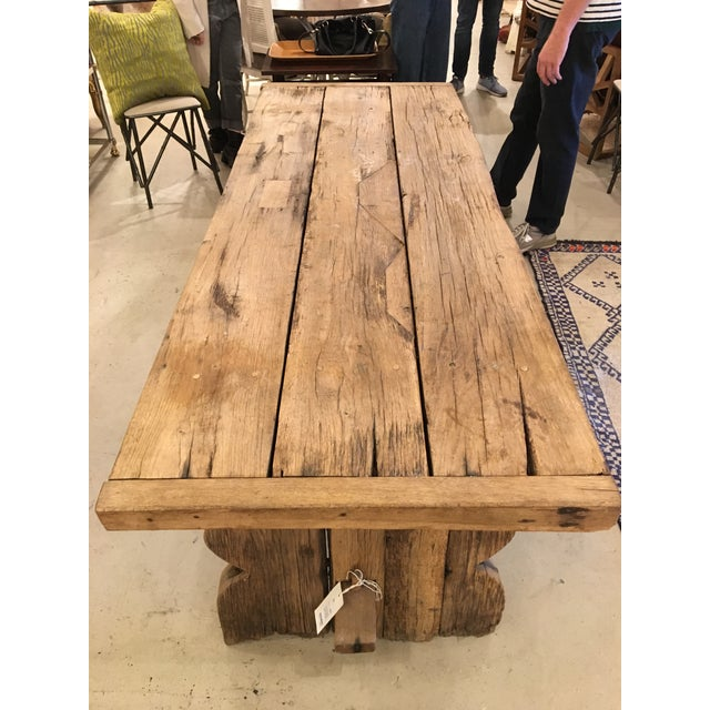 Primitive Spanish TABLE - Image 2 of 9