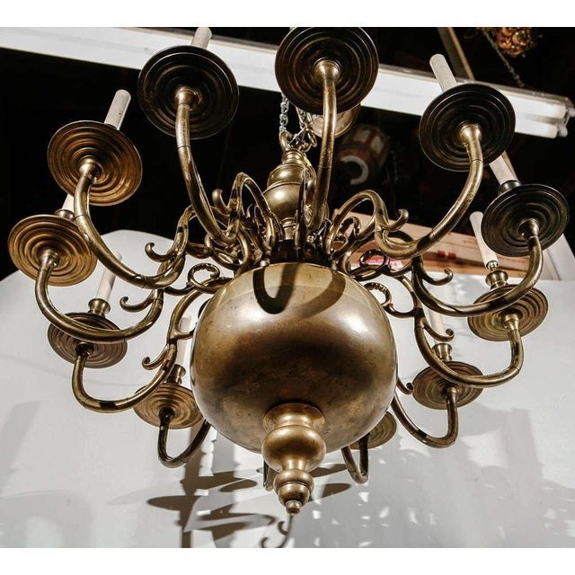 12-Light Chandelier For Sale - Image 9 of 10