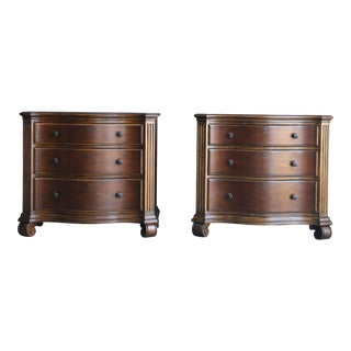Ethan Allen Tuscany Night Tables/Chests - a Pair For Sale