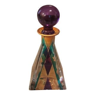Hand Painted Perfume Bottle