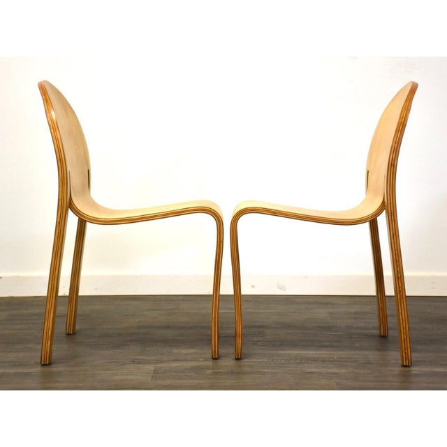 1990s Peter Danko Free Form Dining Chair For Sale - Image 5 of 10