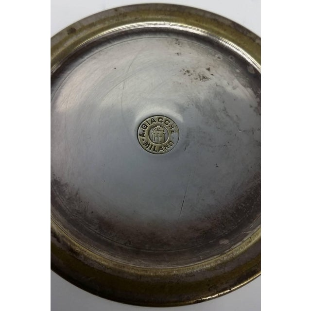 Antique Handmade Box by A. Giacche of Milano For Sale - Image 4 of 6