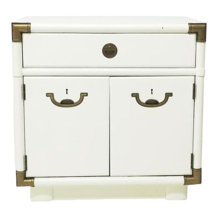Drexel Accolade Campaign Nightstand For Sale