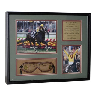Calvin Borel Three Time Kentucky Derby Winner Signed Racing Memorabilia For Sale