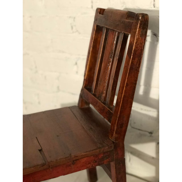 20th Century Qing Style Child's Chair For Sale - Image 4 of 10