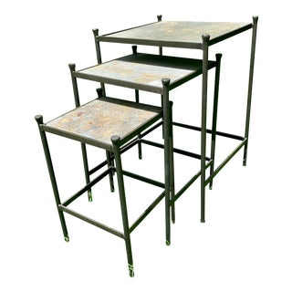 Charleston Forge Nesting Tables - Set of 3 For Sale