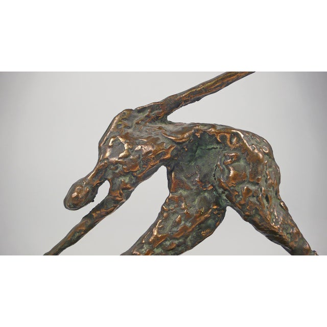 Jere Bronze Figural Sculpture For Sale In Dallas - Image 6 of 8
