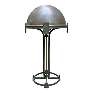 Vienna Secession Bronze Table Lamp For Sale