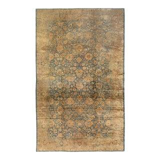 Antique Hand Knotted Tabriz Rug For Sale