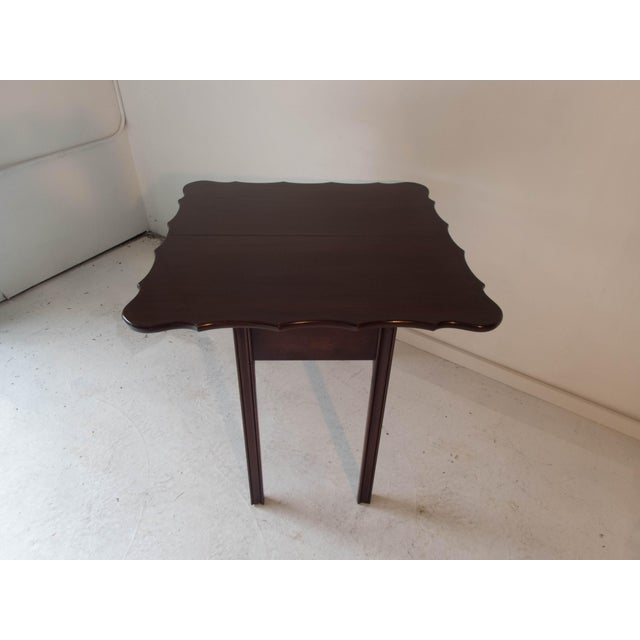 Vintage Mahogany Game Table - Image 6 of 7