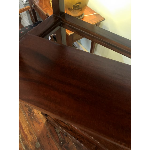 Asian Modern Wood Etagere For Sale - Image 11 of 13