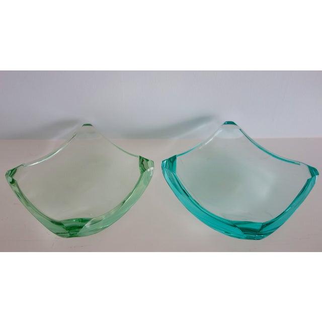 Erwin Burger Fontana Arte Glass Dishes - A Pair - Image 7 of 8