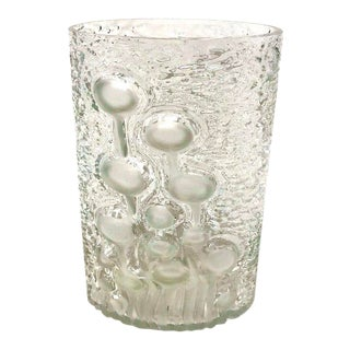Frosted Jellyfish Vase by Oiva Toikka for Iittala For Sale